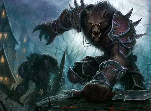wow cataclysm worgen artwork