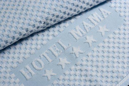 Frottier-Handtuch mit eingesticktem Namen: Hotel Mama