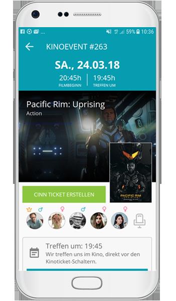 cinn kino app