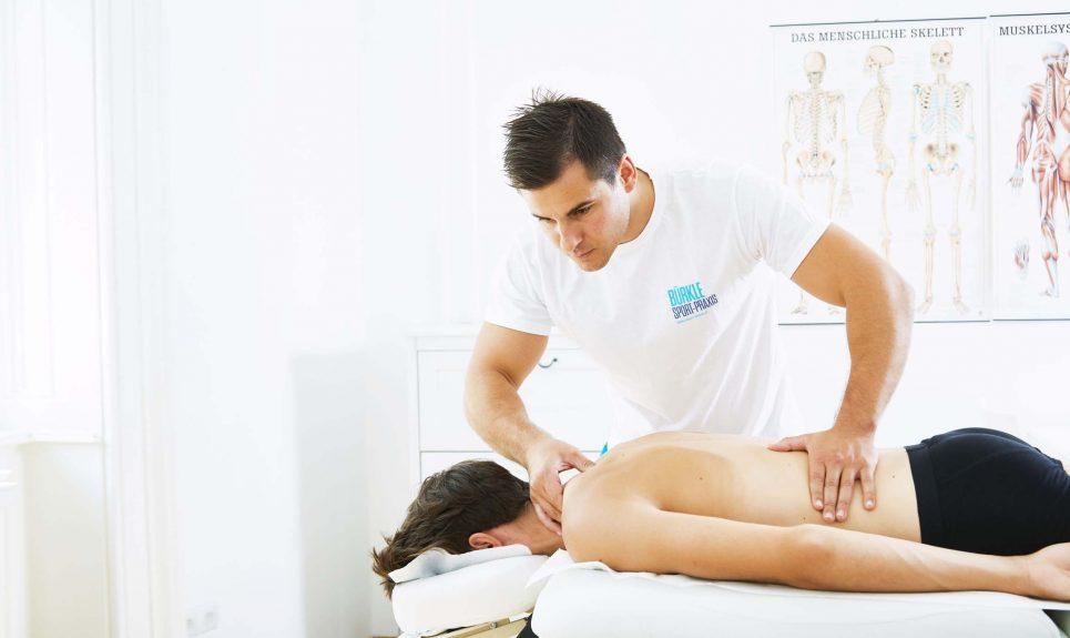 Stefan Bürkle - Physiotherapie & Sport-Massagen in 1030 Wien